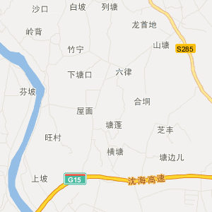 广东旅游地图 湛江旅游地图