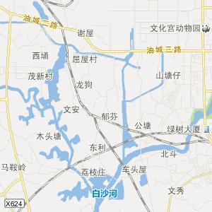 广东省茂名市旅游地图
