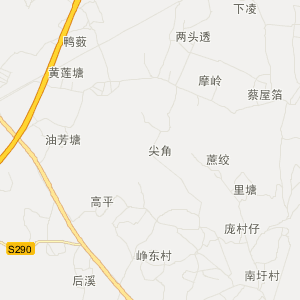 廉江市横山镇旅游地图