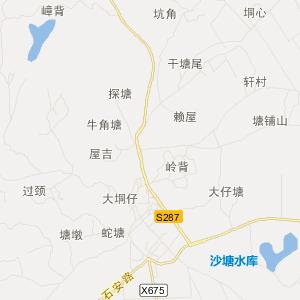 廉江石岭交通地图_石岭在线高清交通图查询