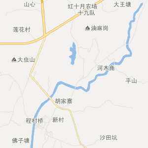 广东交通地图 阳江交通地图