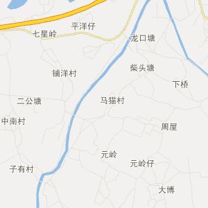 廉江新民交通地图_新民在线交通图查询