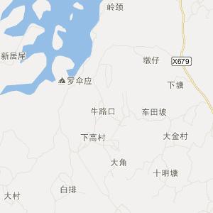 湛江廉江市吉水镇寨地村邮编-地图-公交-银行-邮局