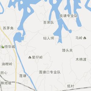 广东省旅游地图 湛江市旅游地图