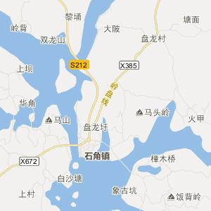 廉江石角旅游地图_中国电子地图网