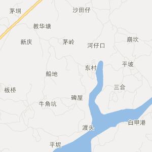 茂名市文明路地图