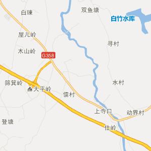 平南大新旅游地图_中国电子地图网