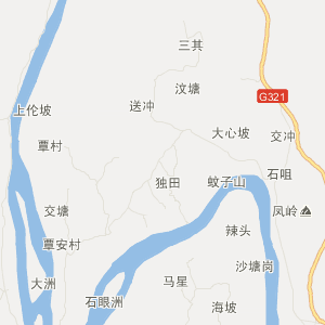广西交通地图 梧州交通地图