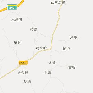 藤县新庆旅游地图_中国电子地图网