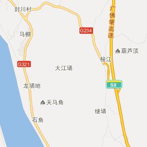 梧州至德庆地图
