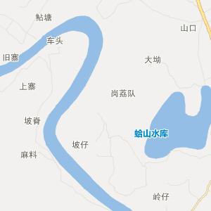 广东旅游地图 阳江旅游地图