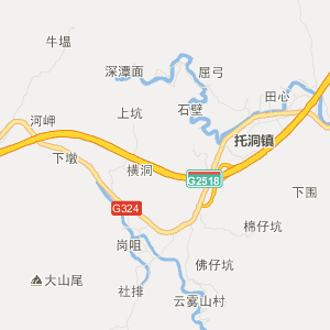 陕西省镇安县地图