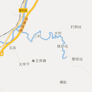 济南地图 太原地图 西安地图