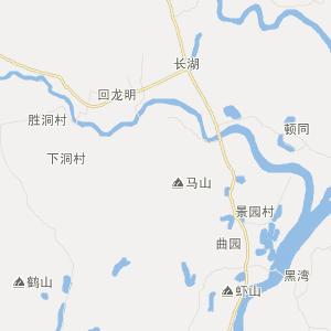 北惯交通地图 合山交通地图
