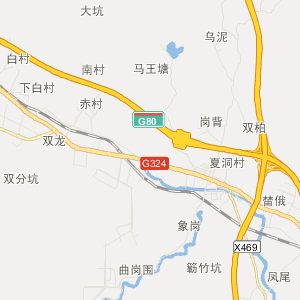 广东省交通地图 云浮市交通地图