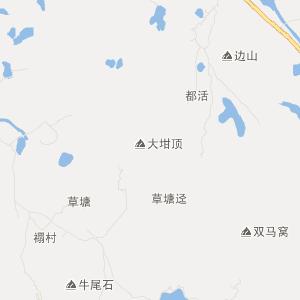 广东旅游地图 云浮旅游地图