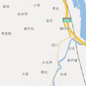 广宁宾亨交通地图