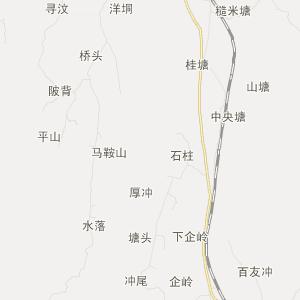广西旅游地图 玉林旅游地图