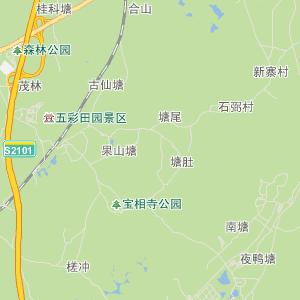 玉林北流交通地图_中国电子地图网