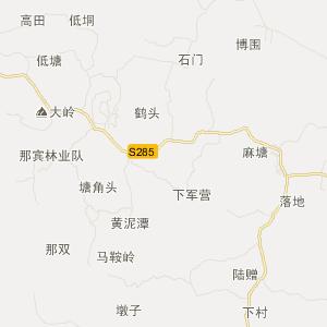 广东省旅游地图 茂名市旅游地图