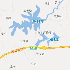 平南镇隆旅游地图_中国电子地图网