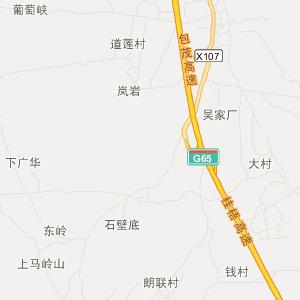 柳州到罗城的地图