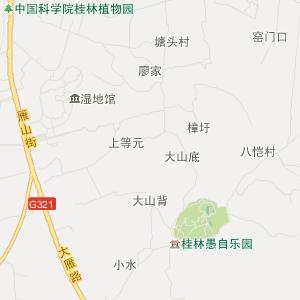 桂林雁山旅游地图_中国电子地图网