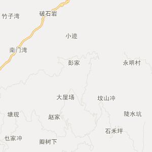 === 小沙江交通地图 ===; === 隆回县小沙江镇旅游地图 ===; = 隆回小