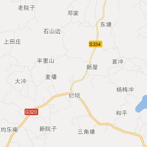 邵阳县长阳铺镇在线旅游地图查询