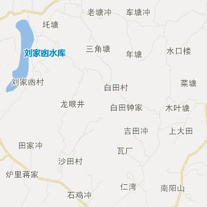 邵阳县下花桥镇旅游地图
