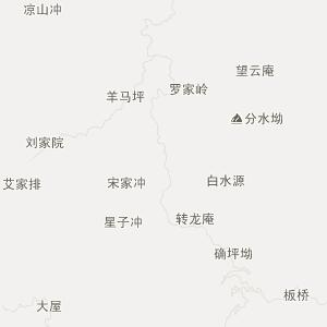 祁东四明山交通地图