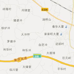湖南旅游地图 邵阳旅游地图