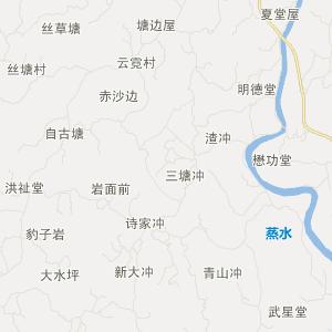 湖南交通地图 邵阳交通地图