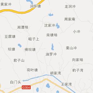 湖南旅游地图 湘潭旅游地图