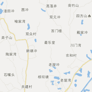 宁乡灰汤旅游地图_中国电子地图网