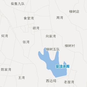 沙洋县曾集镇交通地图