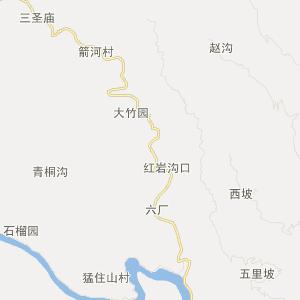 山阳法官旅游地图_中国电子地图网