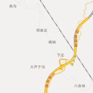 西峡县寨根乡交通地图