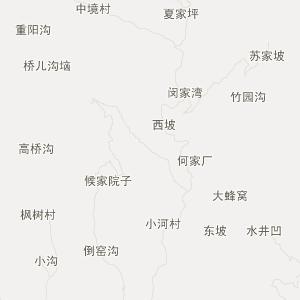 山阳西泉旅游地图_中国电子地图网