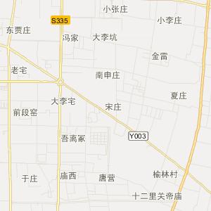 地图 中国河南省南阳市邓州市