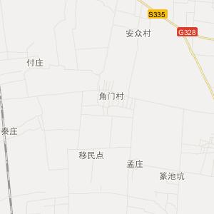 南阳市新野县交通地图