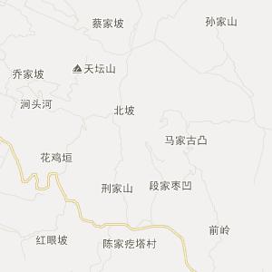 浮山张庄交通地图_中国电子地图网图片