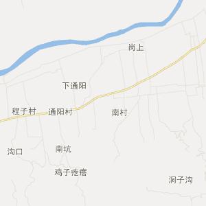 宜阳县韩城镇交通地图