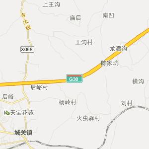 山西高平河西地图
