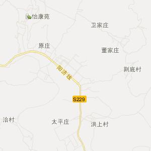 蟒河风景区地图