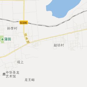 山西旅游地图 运城旅游地图