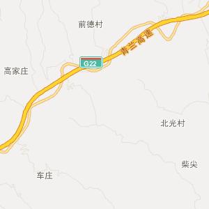 山西旅游地图 临汾旅游地图