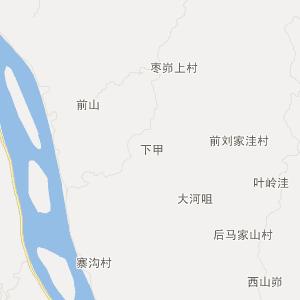 临县丛罗峪交通地图_中国电子地图网