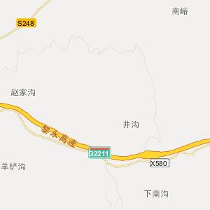 山西交通地图 临汾交通地图