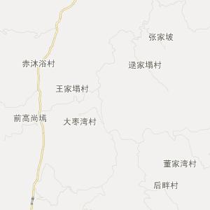 临县碛口旅游地图